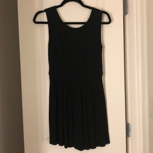 Urban Outfitters Backless Black Dress, S